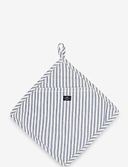 Lexington Home - Icons Cotton Herringbone Striped Potholder - pannulaput ja patakintaat - blue/white - 0