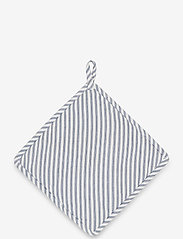 Lexington Home - Icons Cotton Herringbone Striped Potholder - pannulaput ja patakintaat - blue/white - 1