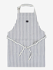Lexington Home - Icons Cotton Herringbone Striped Apron - esiliinat - blue/white - 0