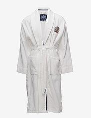 Lexington Home - Lexington Velour Robe - badrockar - white - 0