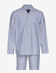 Lexington Home - Pajama Set organic - pyjamat - lt blue/white - 0