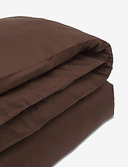 Lexington Home - Hotel Sateen Jacquard Chestnut Duvet - bedding sets - chestnut - 2