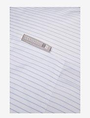 Lexington Home - Hotel Lyocell Stripe White/Blue Duvet - housses de couette - white/blue - 1
