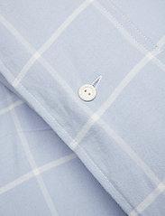 Lexington Home - Hotel Light Flannel Lt Blue/White Duvet - housses de couette - lt blue/white - 1