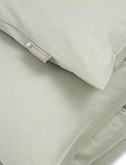 Lexington Home - Hotel Cotton Sateen Sage Green Duvet Cover - housses de couette - sage green - 1