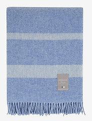 Lexington Home - Hotel Wool Throw - plaids - blue/white - 0