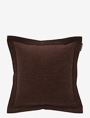 Lexington Home - Hotel Velvet Sham with Embroidery - housses de coussins - chestnut - 0