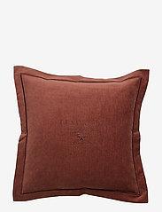 Lexington Home - Hotel Velvet Sham with Embroidery - housses de coussins - chestnut - 3