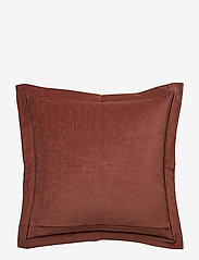 Lexington Home - Hotel Velvet Sham with Embroidery - housses de coussins - chestnut - 2