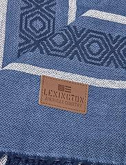 Lexington Home - Multi Striped Cotton Throw - blankets - blue multi - 1