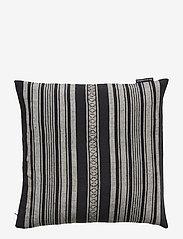 Lexington Home - Striped Linen Cotton Sham - pillowcases - dk. gray - 0