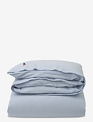 Lexington Home - Blue Striped Seersucker Duvet - duvet covers - white/blue - 0