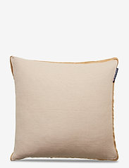 Lexington Home - Cotton Jute Sham - poszewki na poduszki ozdobne - beige - 0