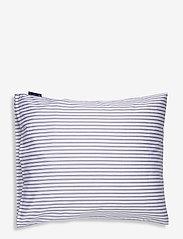 Lexington Home - Striped Tencel/Cotton Pillowcase - pillowcases - white/steel blue - 1