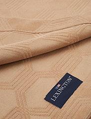 Lexington Home - Jacquard Cotton Velvet Bedspread - bedspread - dk. beige - 1
