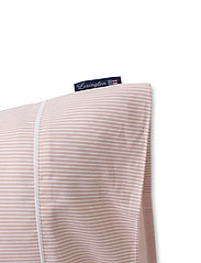 Lexington Home - Pink/White Striped Tencel/Cotton Pillowcase - pillowcases - pink/white - 2