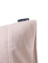 Lexington Home - Pink/White Striped Tencel/Cotton Pillowcase - tyynyliinat - pink/white - 2