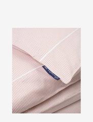 Lexington Home - Pink/White Striped Tencel/Cotton Duvet  Cover - housses de couette - pink/white - 1