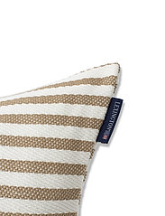 Lexington Home - Block Striped Recycled Cotton Pillow Cover - housses de coussins - beige - 2