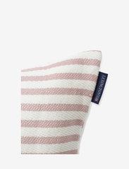 Lexington Home - Block Striped Recycled Cotton Pillow Cover - housses de coussins - pink - 1
