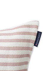 Lexington Home - Block Striped Recycled Cotton Pillow Cover - housses de coussins - pink - 2