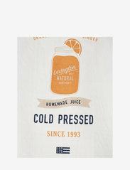 Lexington Home - Printed Cotton Twill Kitchen Towel - keittiöpyyhkeet - off white/blue/orange - 1