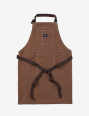 Lexington Home - Brown Cotton Canvas Apron - tabliers - brown - 0