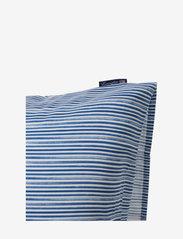 Lexington Home - Blue Striped Organic Cotton Sateen Pillowcase - taies d'oreiller - blue/white - 4