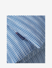 Lexington Home - Blue Striped Organic Cotton Sateen Bed Set - parures de lit - blue/white - 2