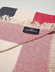 Lexington Home - Block Striped Cotton Blanket - viltit - multi - 1