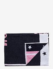 Lexington Home - Graphic Cotton Velour Beach Towel - beach towels - pink/white - 0