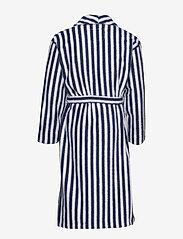 Lexington Home - Striped Cotton-Mix Terry Robe - yö- & oloasut - blue/white - 1