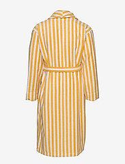 Lexington Home - Striped Cotton-Mix Terry Robe - pegnoirs - yellow/white - 1