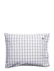 Pin Point Shaker Navy Pillowcase - NAVY/WHITE
