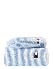 Original Towel White/Blue Striped - WHITE/BLUE