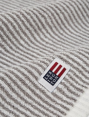 Lexington Home - Original Towel White/Gray Striped - pyyhkeet & kylpypyyhkeet - white/gray - 1