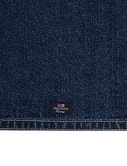Icons Cotton Twill Denim Placemat - DENIM BLUE