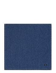 Icons Cotton Twill Denim Napkin - DENIM BLUE