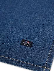 Lexington Home - Icons Cotton Twill Denim Napkin - pöytätabletit - denim blue - 3