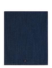 Icons Cotton Twill Denim Tablecloth - DENIM BLUE