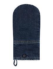 Icons Cotton Twill Denim Mitten - DENIM BLUE