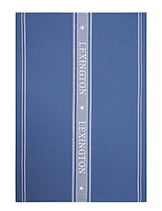 Icons Cotton Jacquard Star Kitchen Towel - BLUE/WHITE