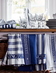 Lexington Home - Icons Cotton Jacquard Star Kitchen Towel - keittiöpyyhkeet - blue/white - 2