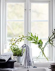 Lexington Home - Icons Cotton Jacquard Star Kitchen Towel - keittiöpyyhkeet - white/black - 3