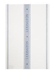Icons Cotton Jacquard Star Kitchen Towel - WHITE/BLUE
