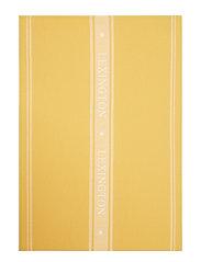 Icons Cotton Jacquard Star Kitchen Towel - YELLOW/WHITE