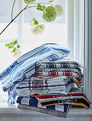 Lexington Home - Icons Cotton Jacquard Star Kitchen Towel - keittiöpyyhkeet - yellow/white - 2