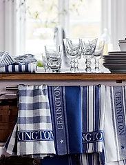 Lexington Home - Icons Checked Cotton Terry Kitchen Towel - ręczniki kuchenne - blue/white - 2