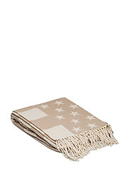 Flag Throw - WHITE/BEIGE
