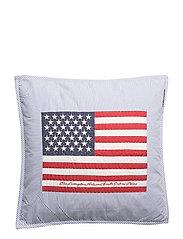 Flag Arts & Crafts Sham - BLUE/WHITE